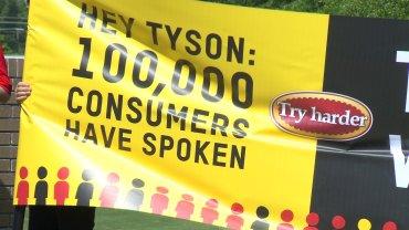 Tyson Protest