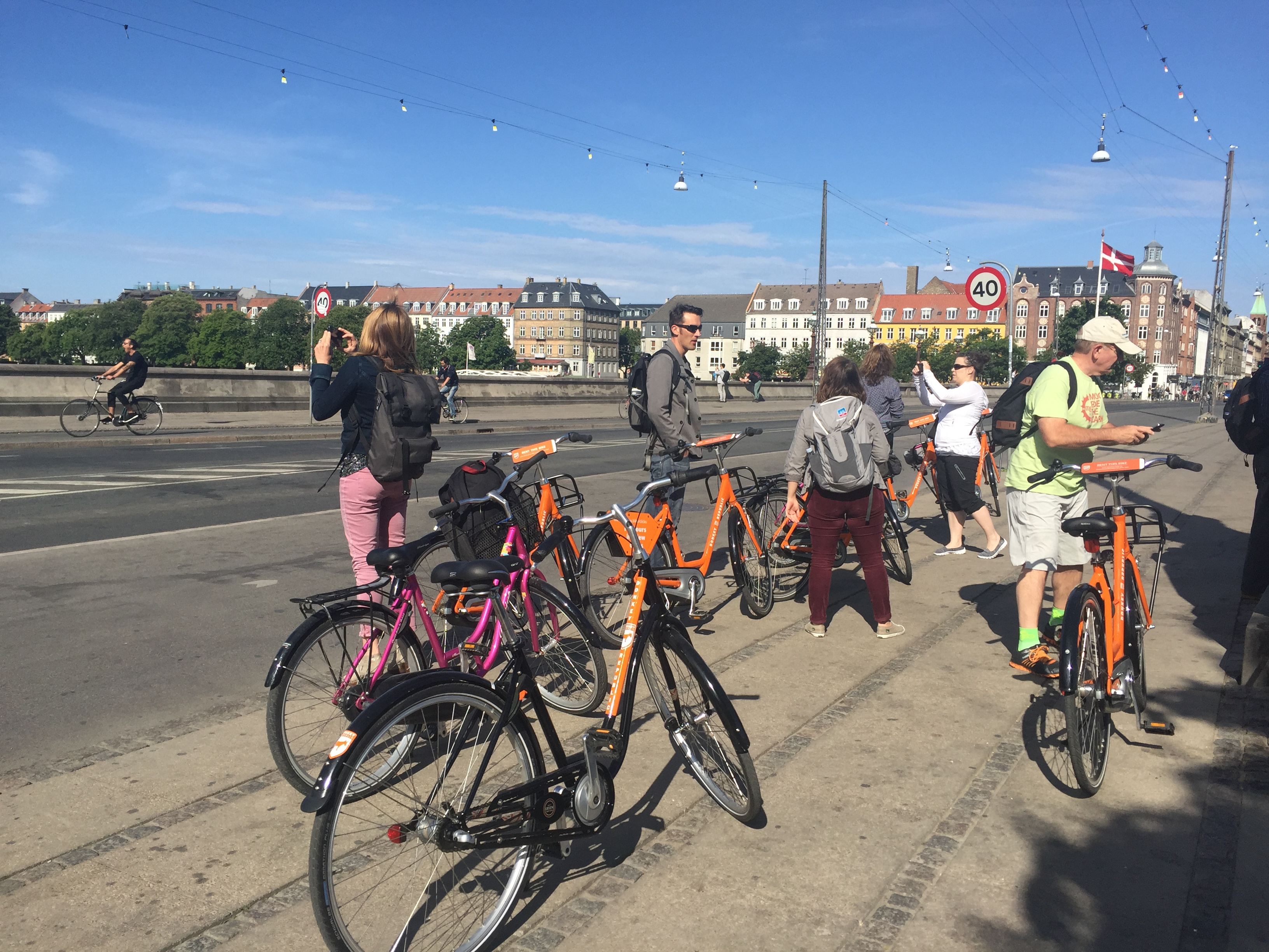 denmark bicycle trip
