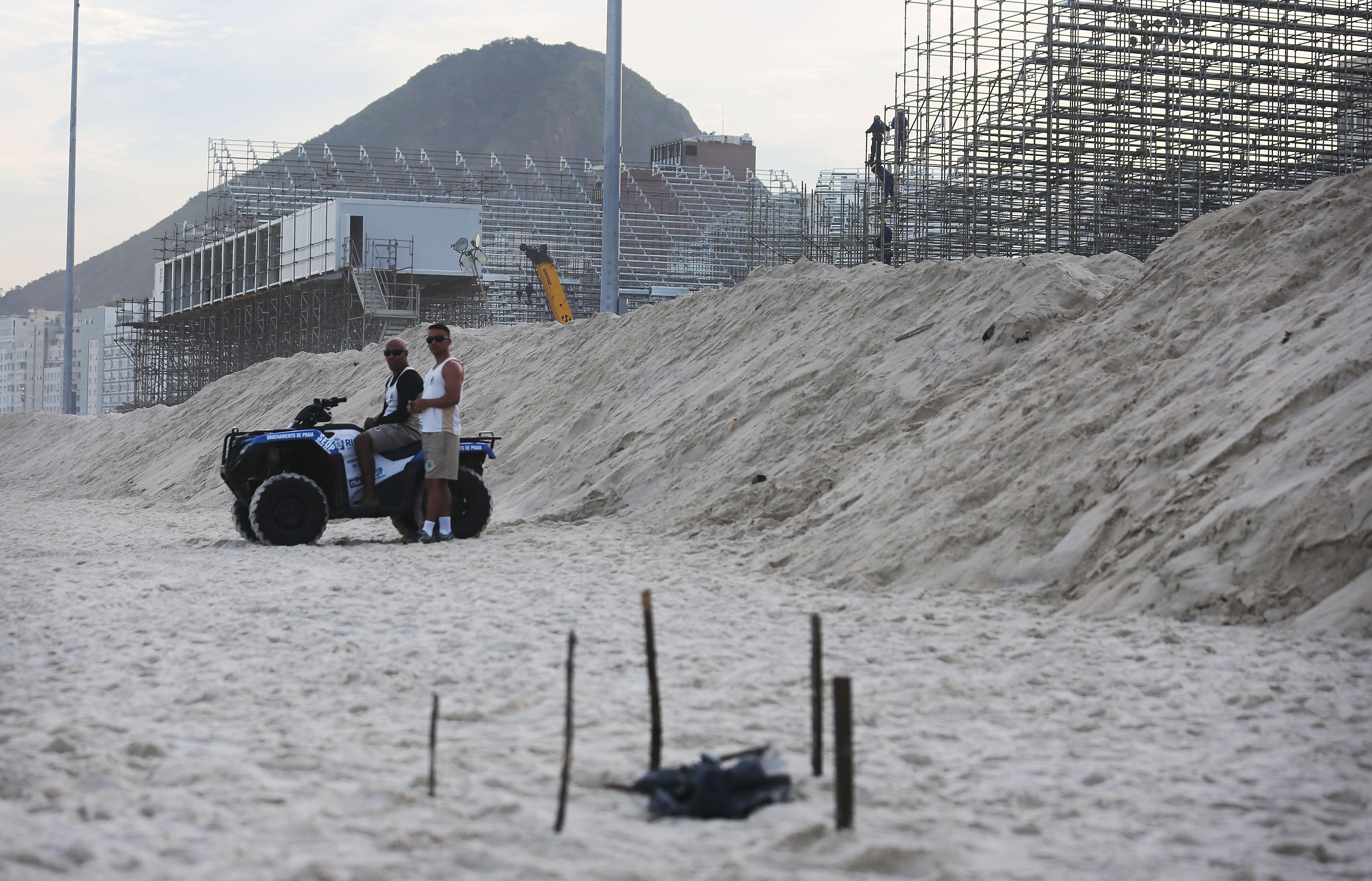 Dead Body Parts Wash Up On Rio De Janeiro Beach Near Olympic Volleyball Venue