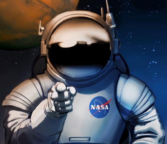 NASA Mars Ads
