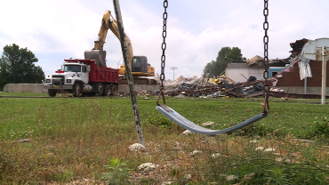 prairie grove school demolition