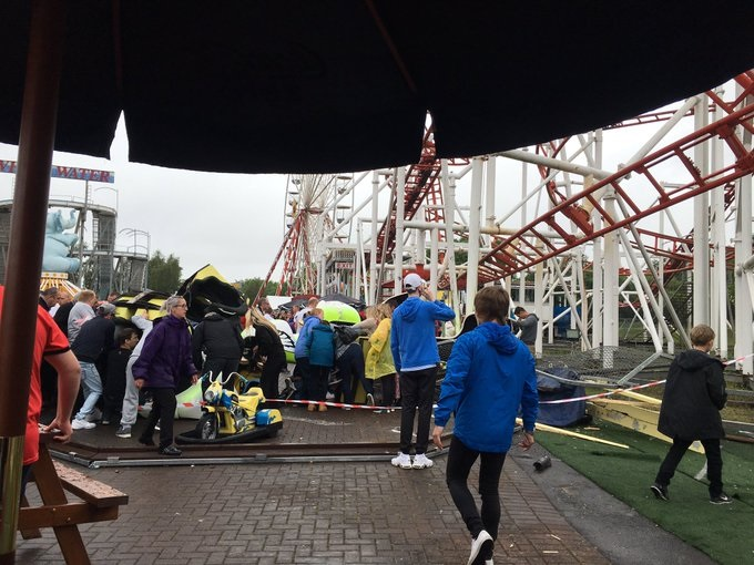 Scotland roller coaster crash