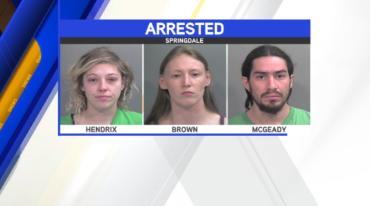 springdale robbery arrests