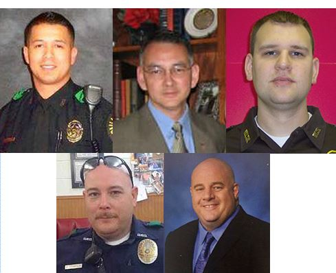 Images courtesy of National Law Enforcement Officers Memorial Fund