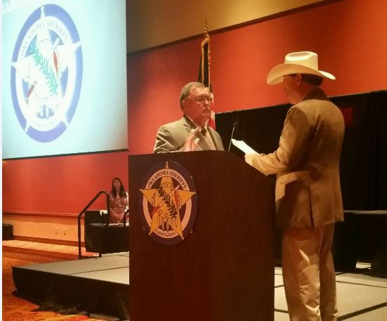 Ron Lockhart Oklahoma Sheriff's Association