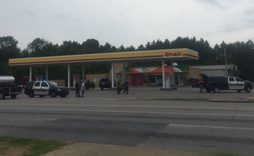 SHell gas Station shooting