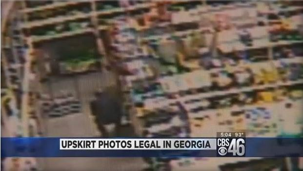 Upskirt Photos Legal In GA