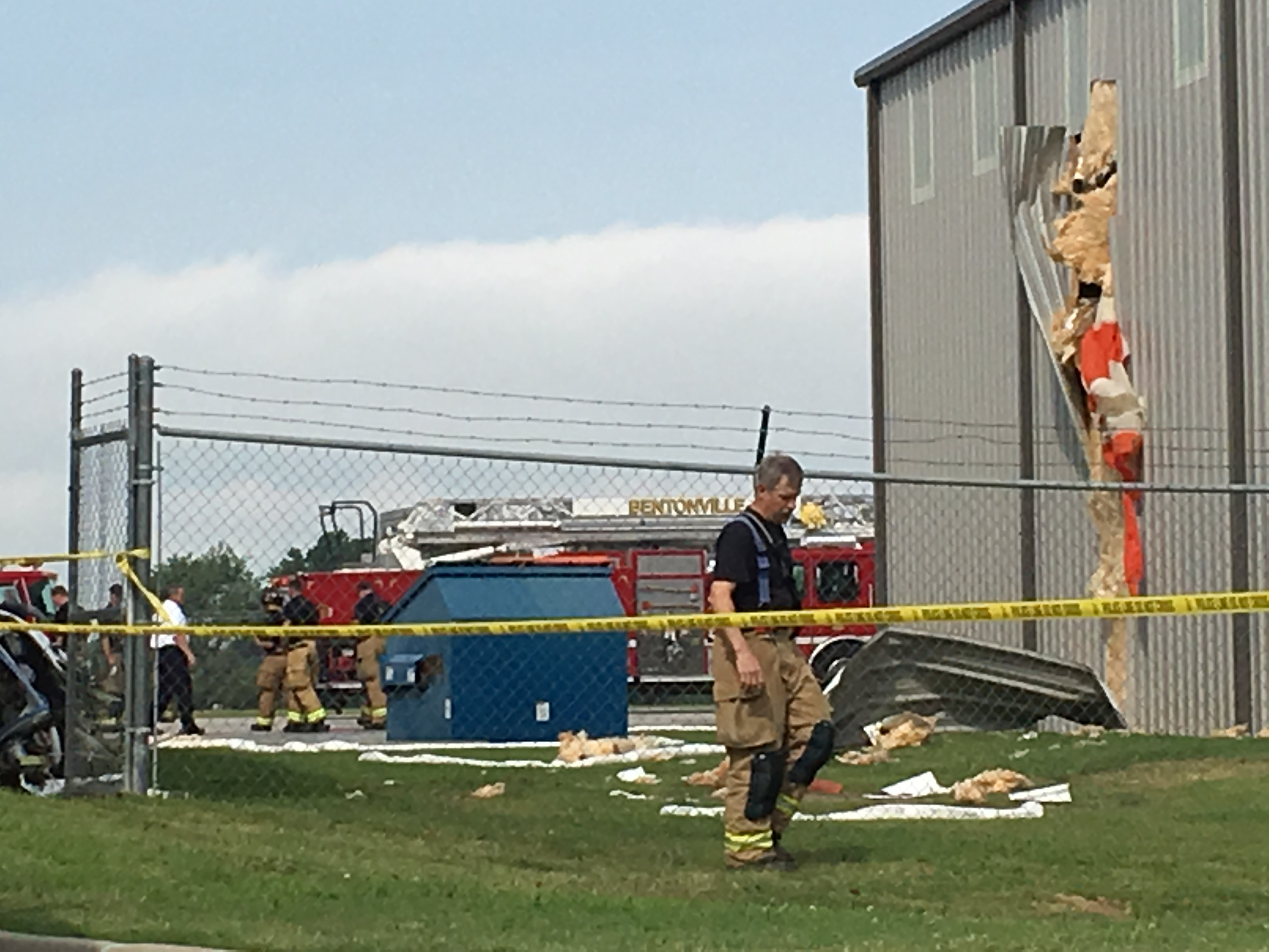 Pilot Dies After Plane Crashes into Hangar at Bentonville Airport