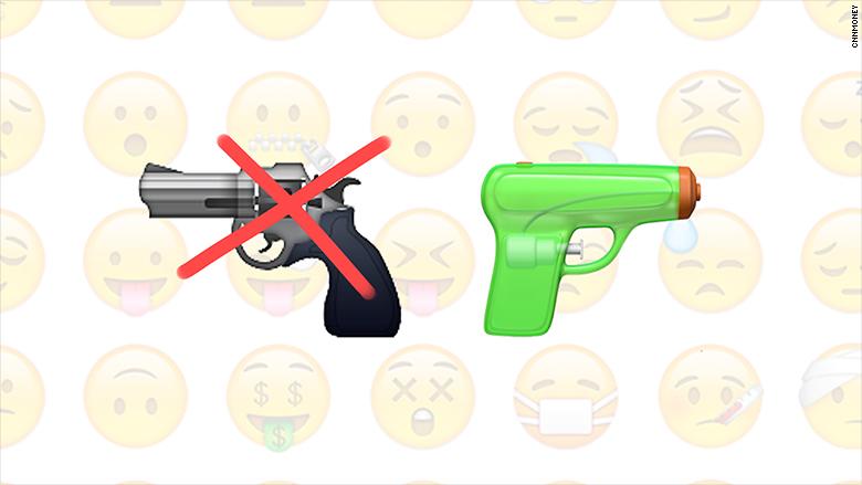 Gun Emoji Water Gun
