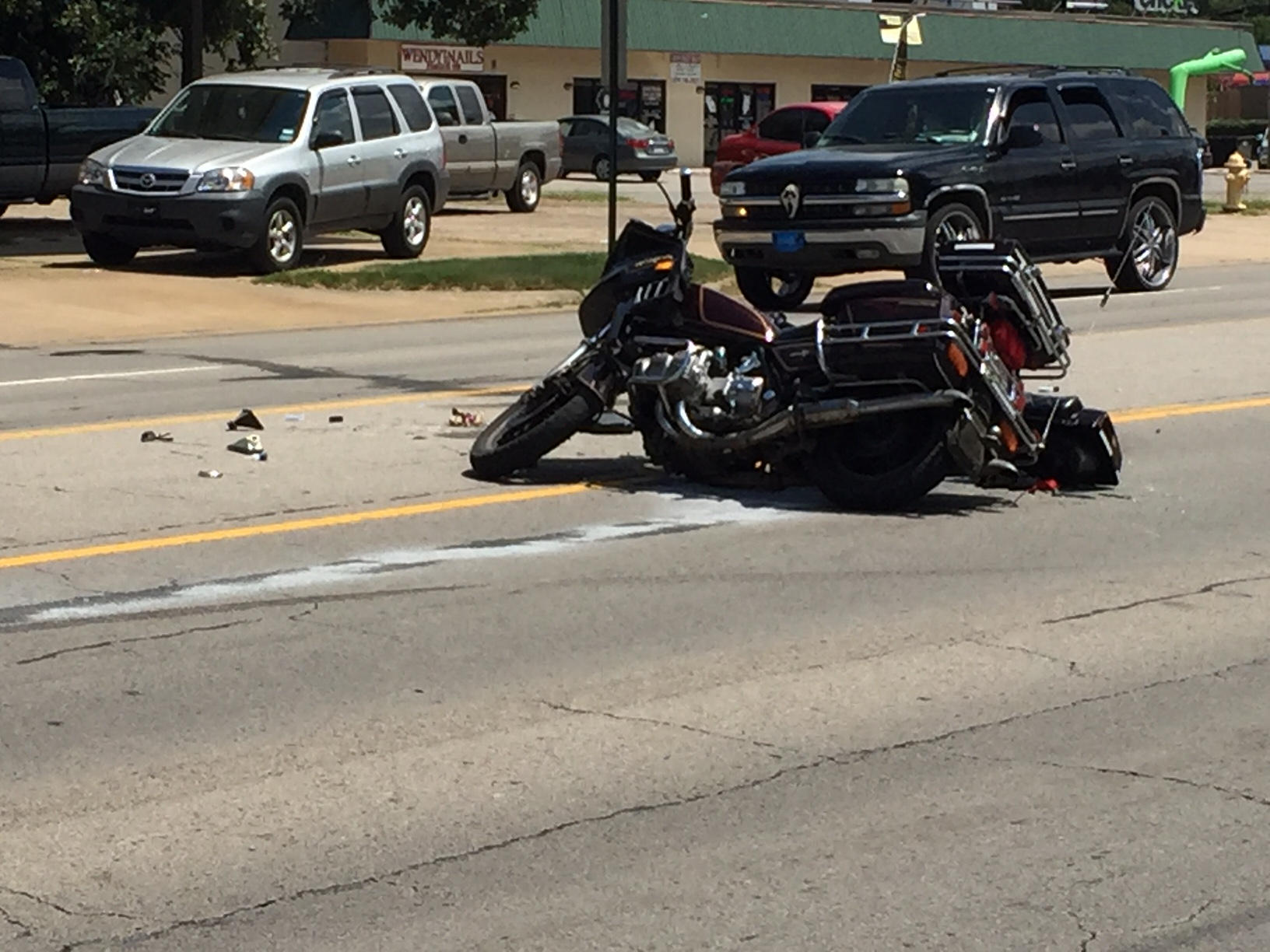 one seriously injured in fort smith motorcycle accident | fort smith