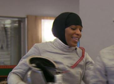Muslim fencing olympian 1