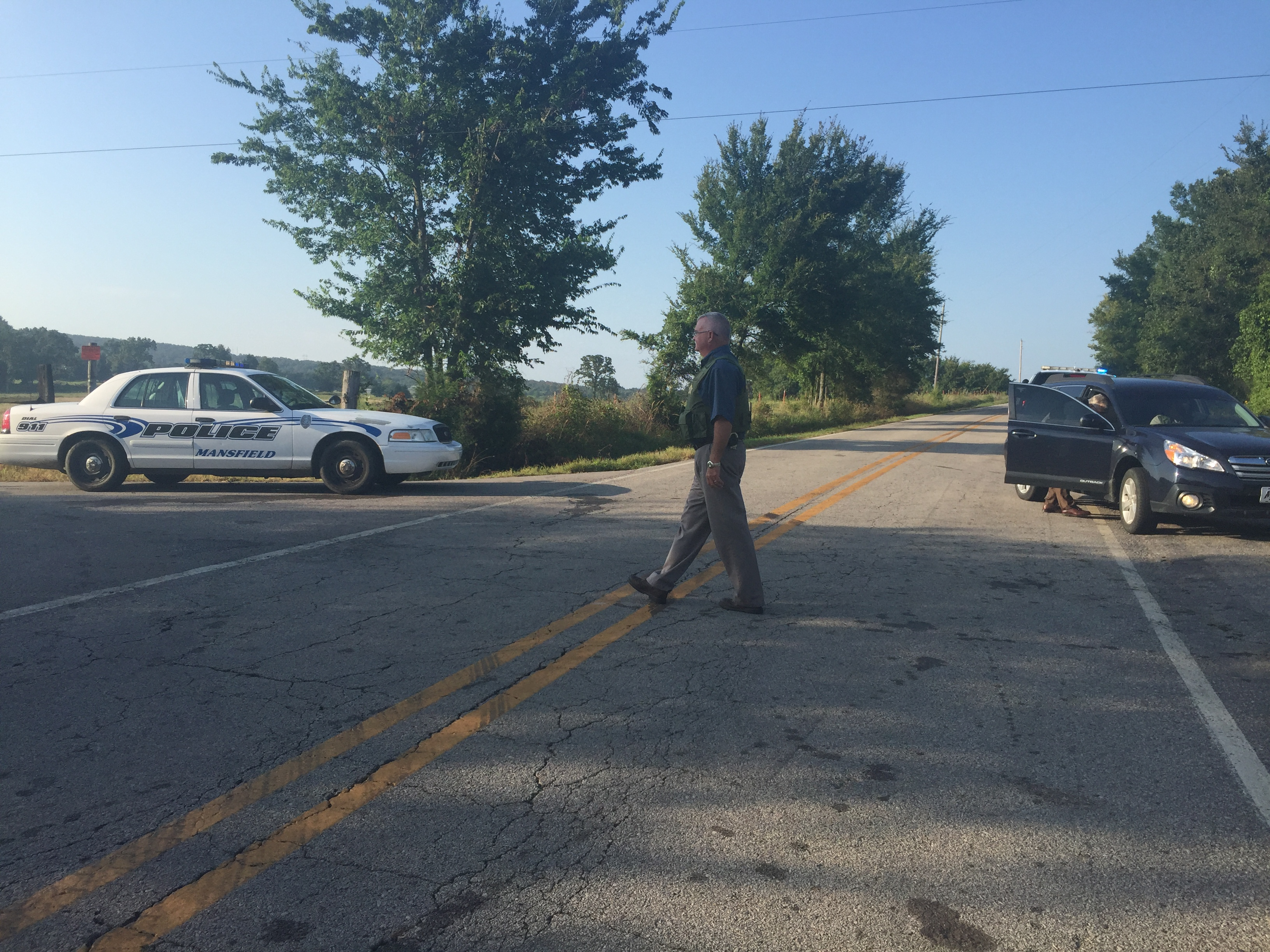 Man in Custody After Two Police Officers Shot in Arkansas