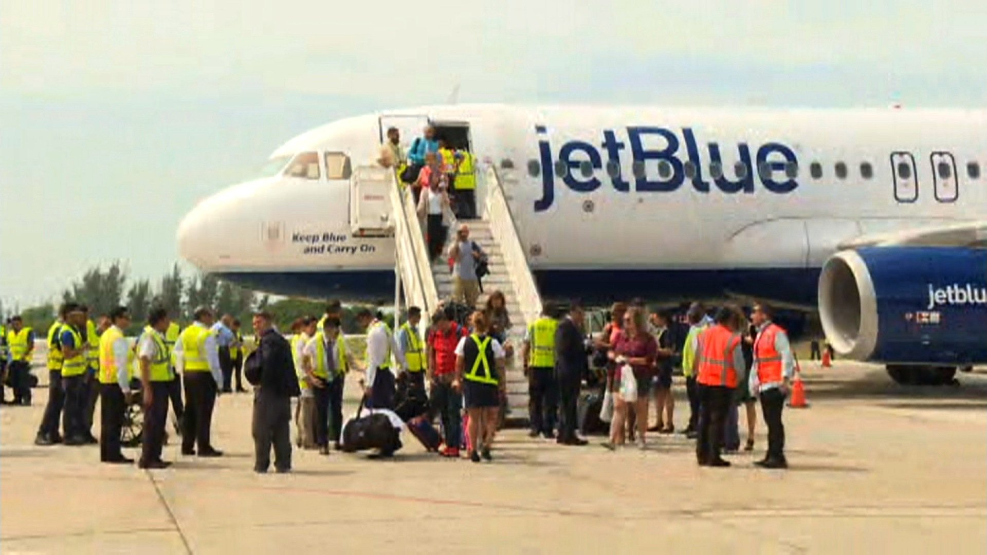 When JetBlue Flight 387 touched down Wednesday, August 31, 2016 in Cuba, it was the first direct commercial flight between the US and the island in over a half-century.