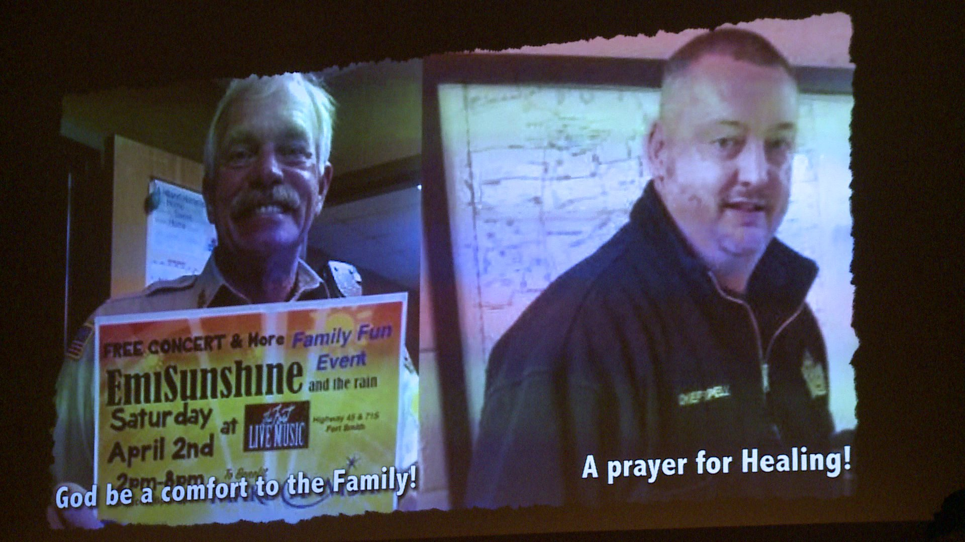 van buren prayer service