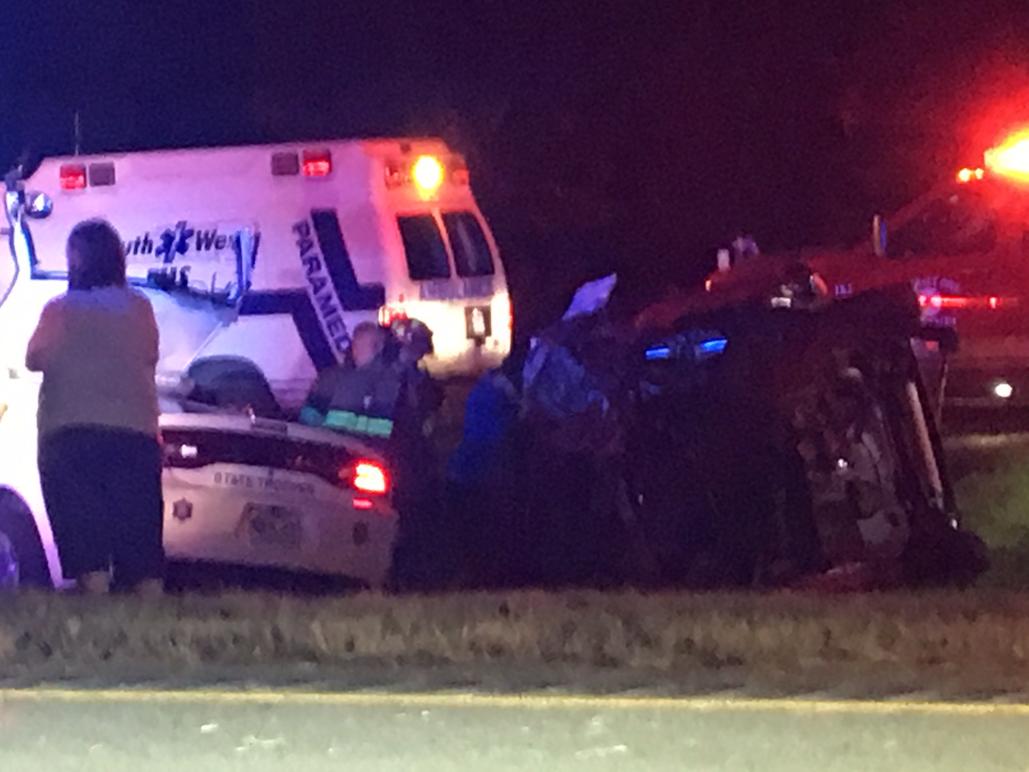 Deadly ASP Trooper Accident On I-40