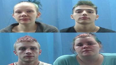 Top left: Kelli Grayson Top right: Charles Russell Bottom left: Joshua Jeffrey Bottom right: Amanda Ferrell