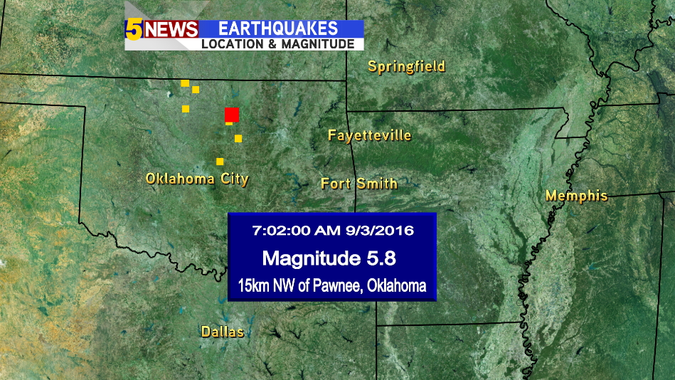 earthquake Pawnee map