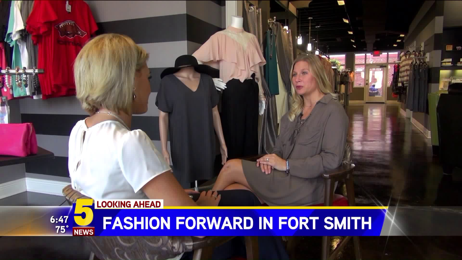 Local business brings fashion forward in Fort Smith, Arkansas.