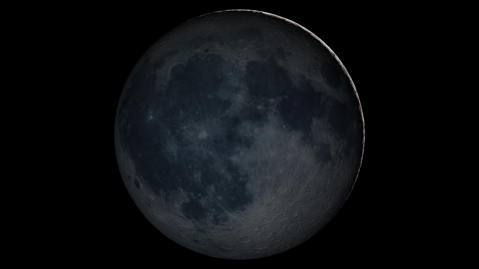 NASA Image New Moon Phase