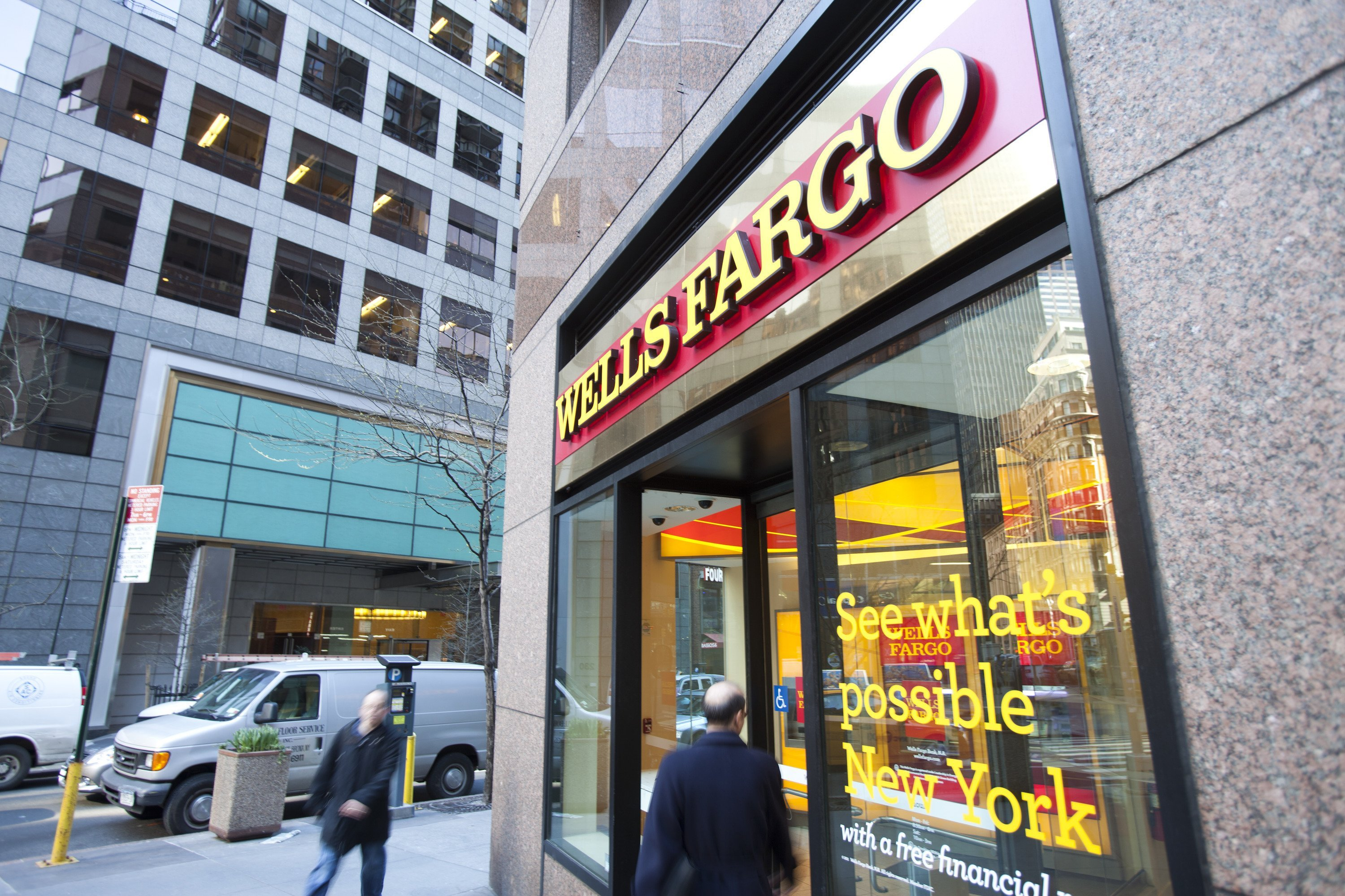Wells Fargo Stock Photo