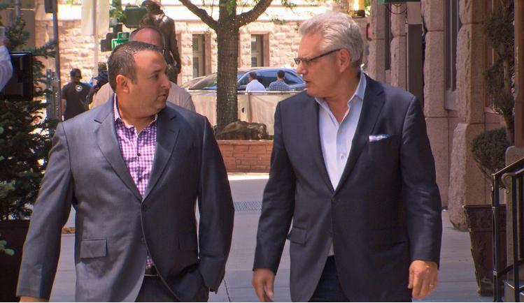 Jeff Rubin (L), Armen Keteyian (R). CBS News