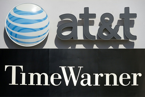 "AT&T is in ""advanced talks"" to acquire Time Warner the Wall Street Journal reported Sat. (Oct. 21)."