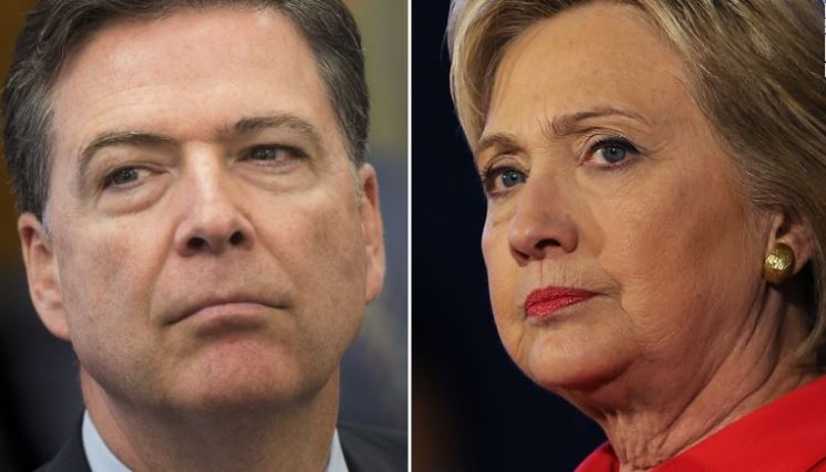 FBI Director James Comey/Dem. Presidential Candidate Hillary Clinton