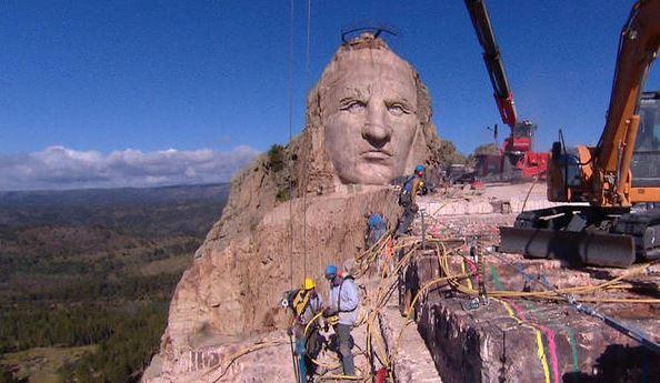 Crazy Horse Memorial Continues/CBS