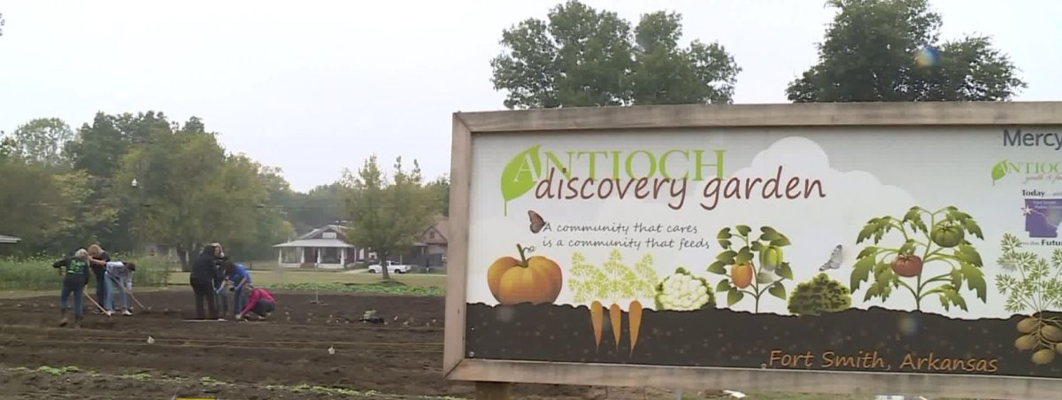 Community Garden Comes To Life In Fort Smith Thanks To