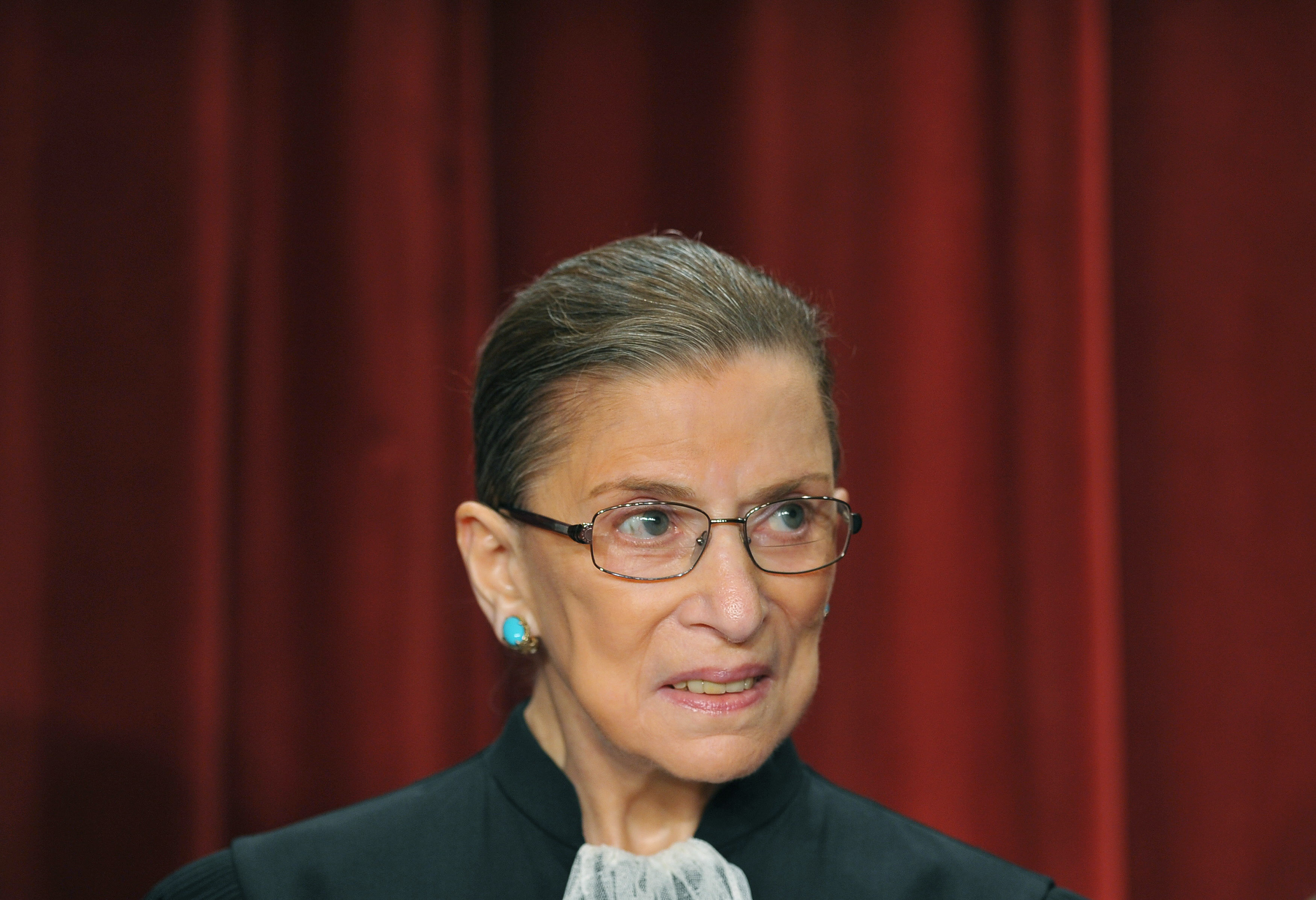 US Supreme Court Justice Ruth Bader Gins