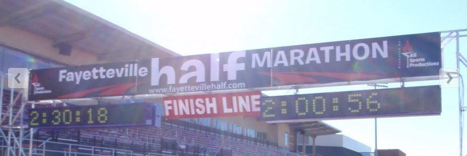 Courtesy:  Fayettevillehalfmarathon.com