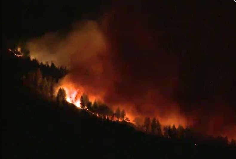 Little Valley Fire, Washoe County, NV