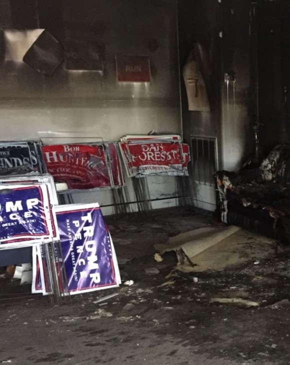 NC GOP Headquarters vandalized/WNCN