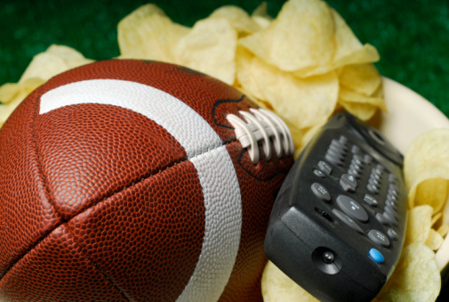 Football, Chips and Remote