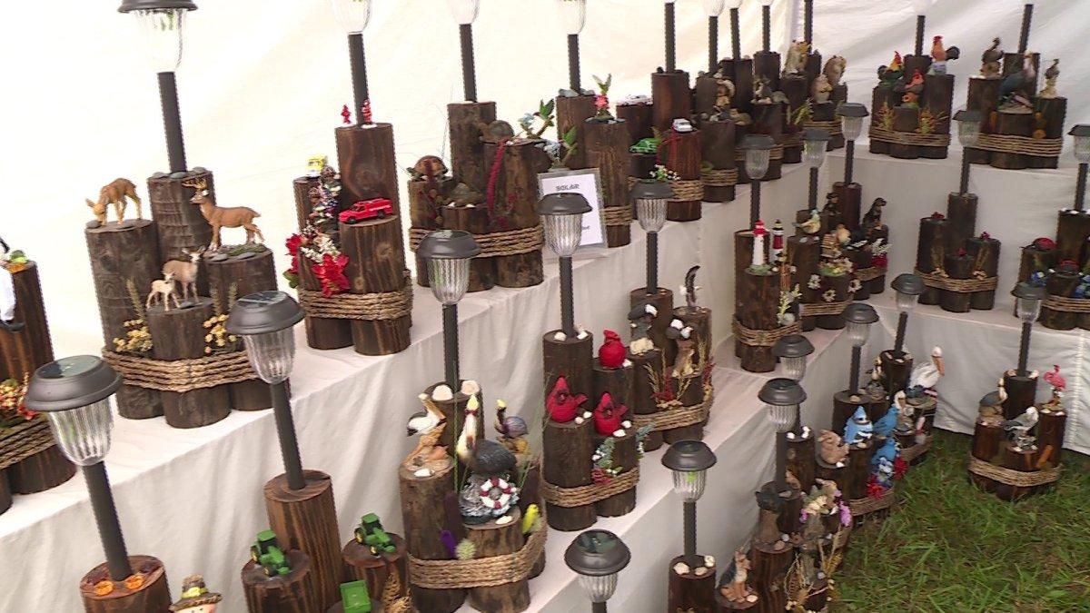 Spanker creek craft fair kicks off big weekend for vendors for Craft fair fayetteville ar