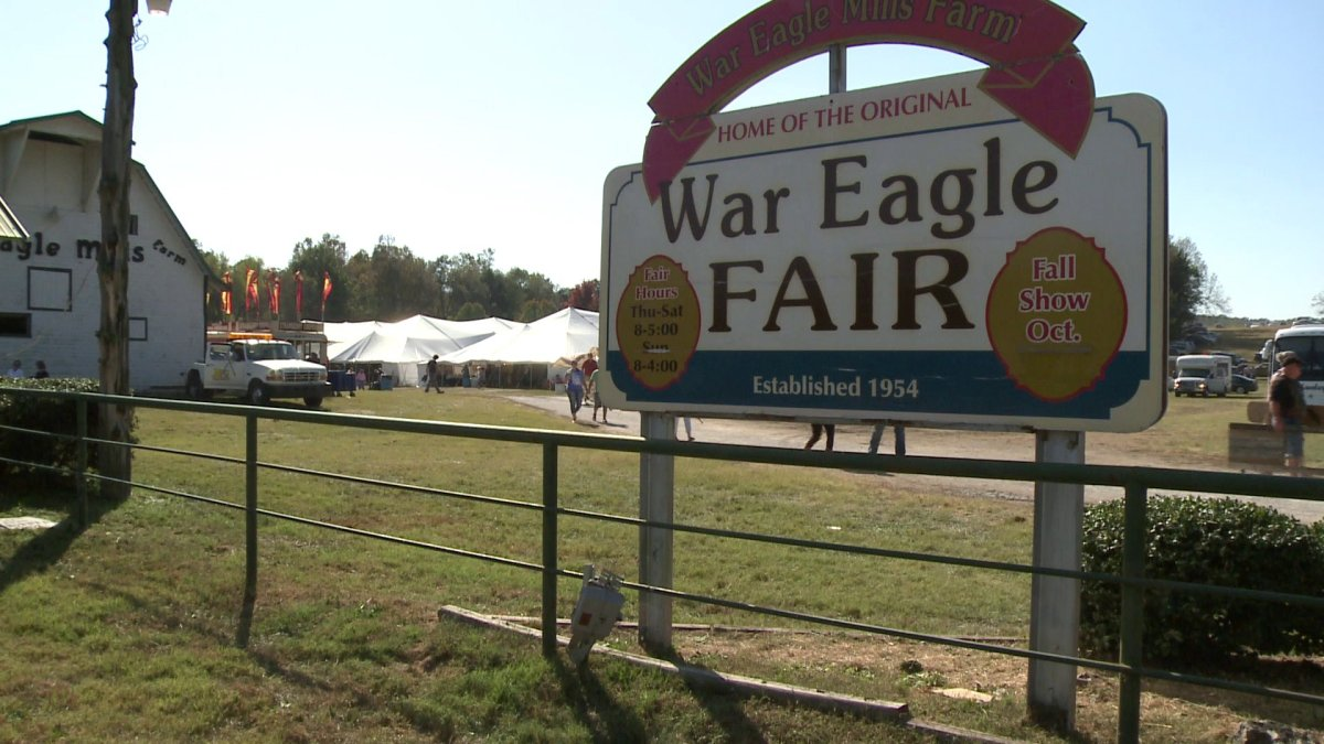Thousands expected to attend war eagle fair in rogers for Craft fair fayetteville ar