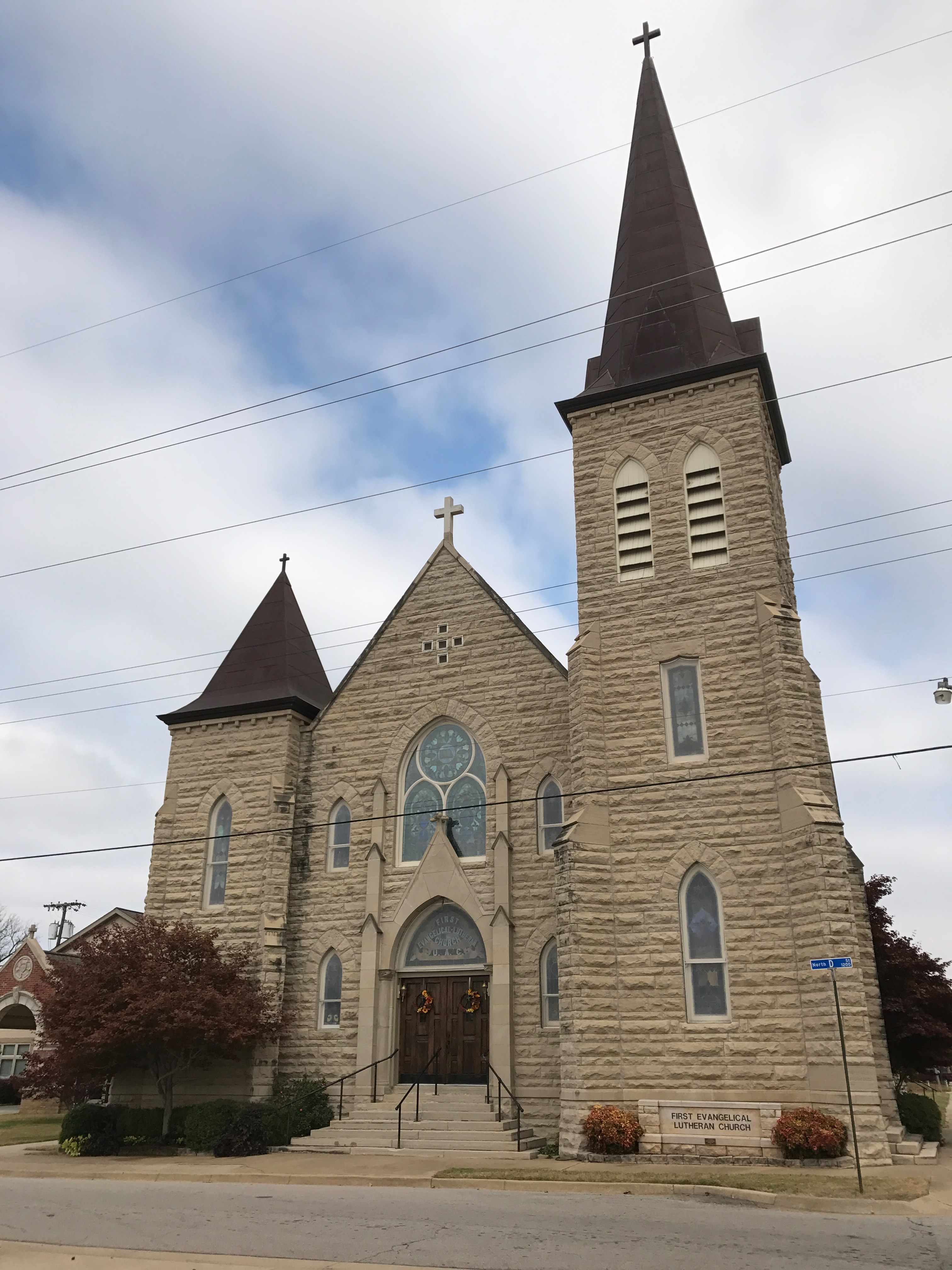 First Evangelical Lutheran Church in Fort Smith.