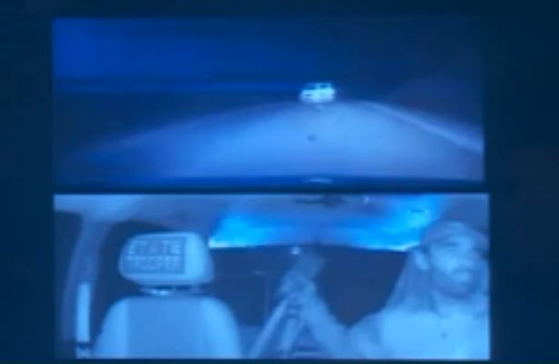 Video shows police firing on Oklahoma murder suspect during chase