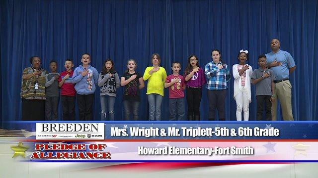 Howard Elementary Fort Smith Mrs Wright Amp Mr Triplett