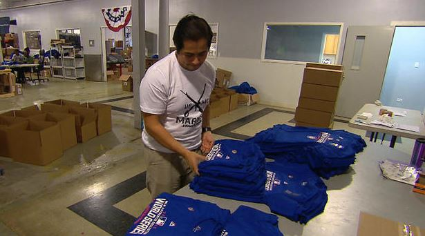 Rags of Honor employee, former Marine Pedro Diaz/CBS