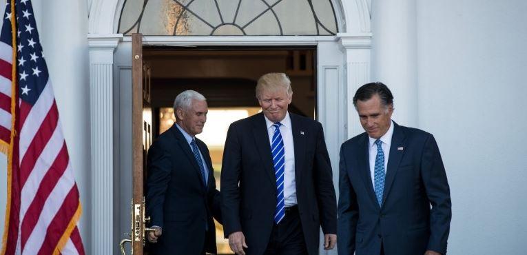 Trump-Romney Meet Discuss Cabinet Possibilities | Fort Smith ...