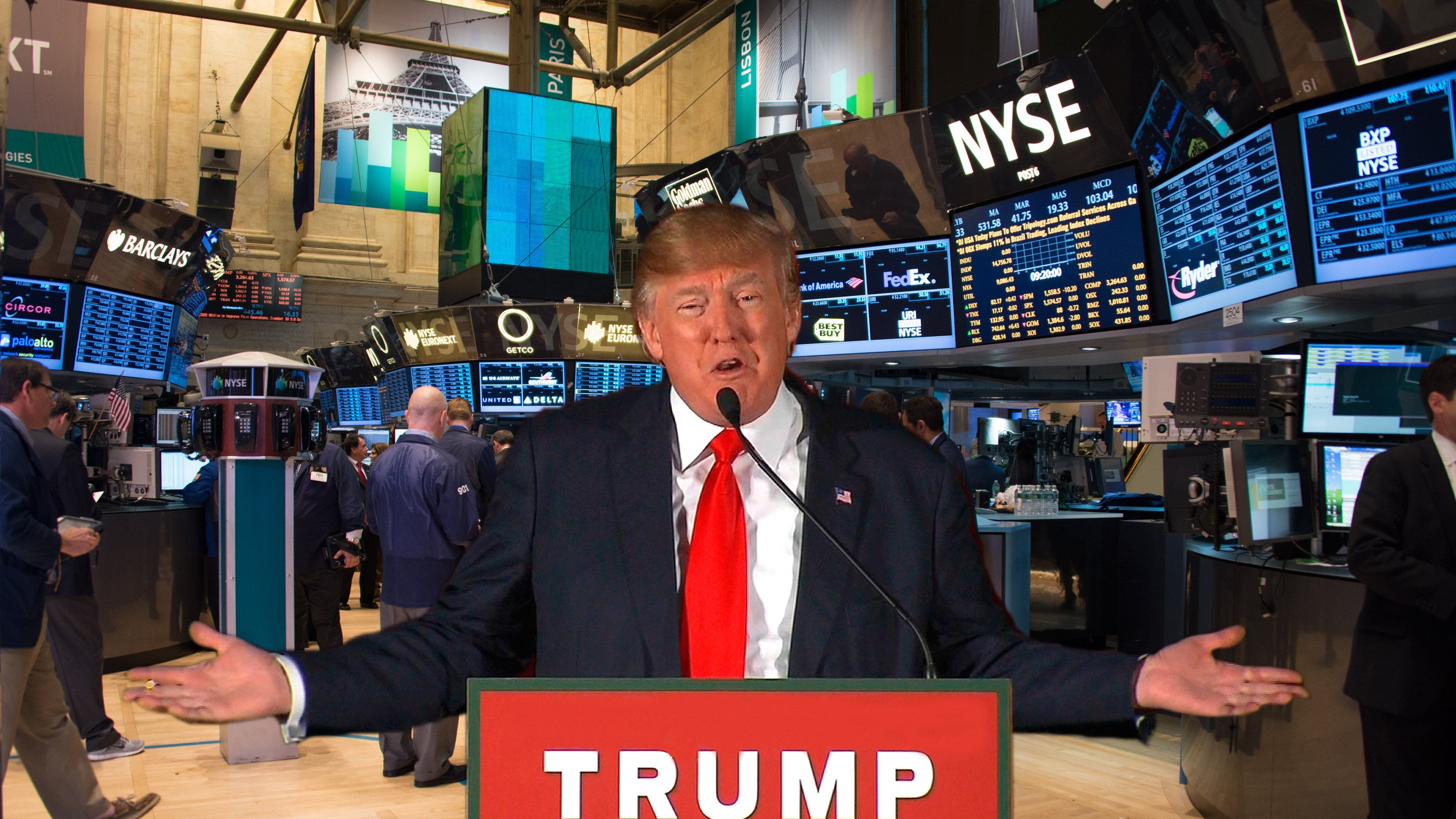 Wall Street is in heaven these days. Donald Trump's surprise election has led to a rally, carrying the Dow above 19,000 for the first time ever.