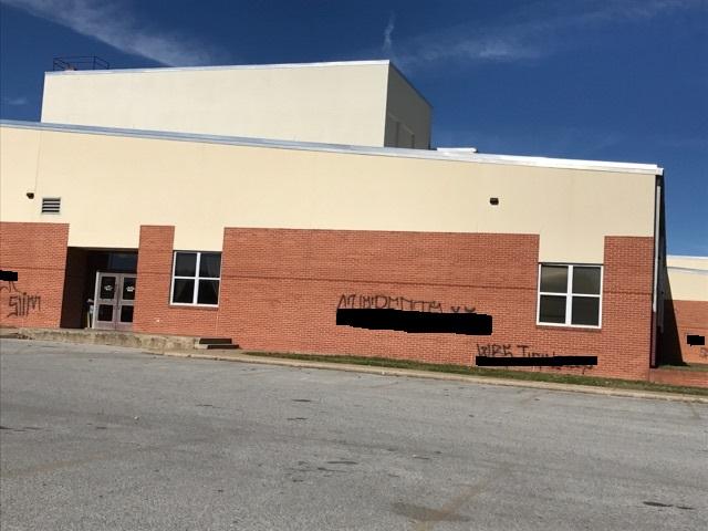 Springdale High School, facing Wilkinson Lane