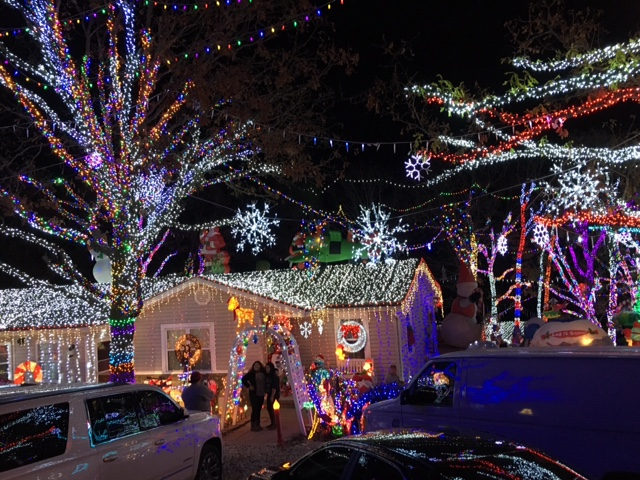 fayetteville family invites community to massive light display for 13th year fort smithfayetteville news 5newsonline kfsm 5news