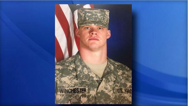 Army Pfc. David Winchester. Photo provided by U.S. Army to CBS Affil. WNCN.