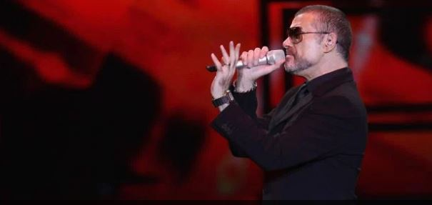 Singer George Michael performs in Milan, Italy on Nov. 11, 2011. (Getty)