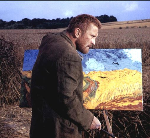 "Kirk Douglas as Dutch painter Vincent van Gogh in the movie, ""Lust for Life,"" 1956."