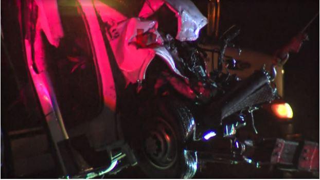 Bus carrying high school cheerleaders crashed in West Texas.
