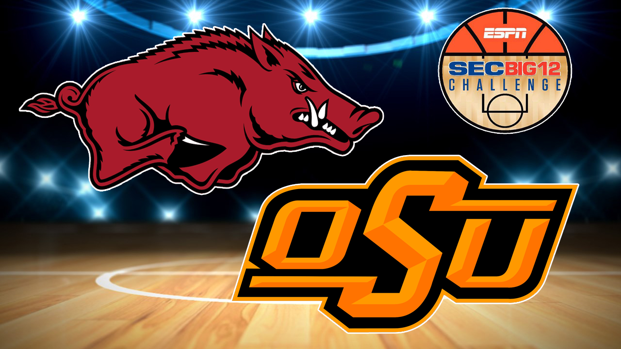 Arkansas Holds Off Oklahoma State In Big 12/SEC Challenge
