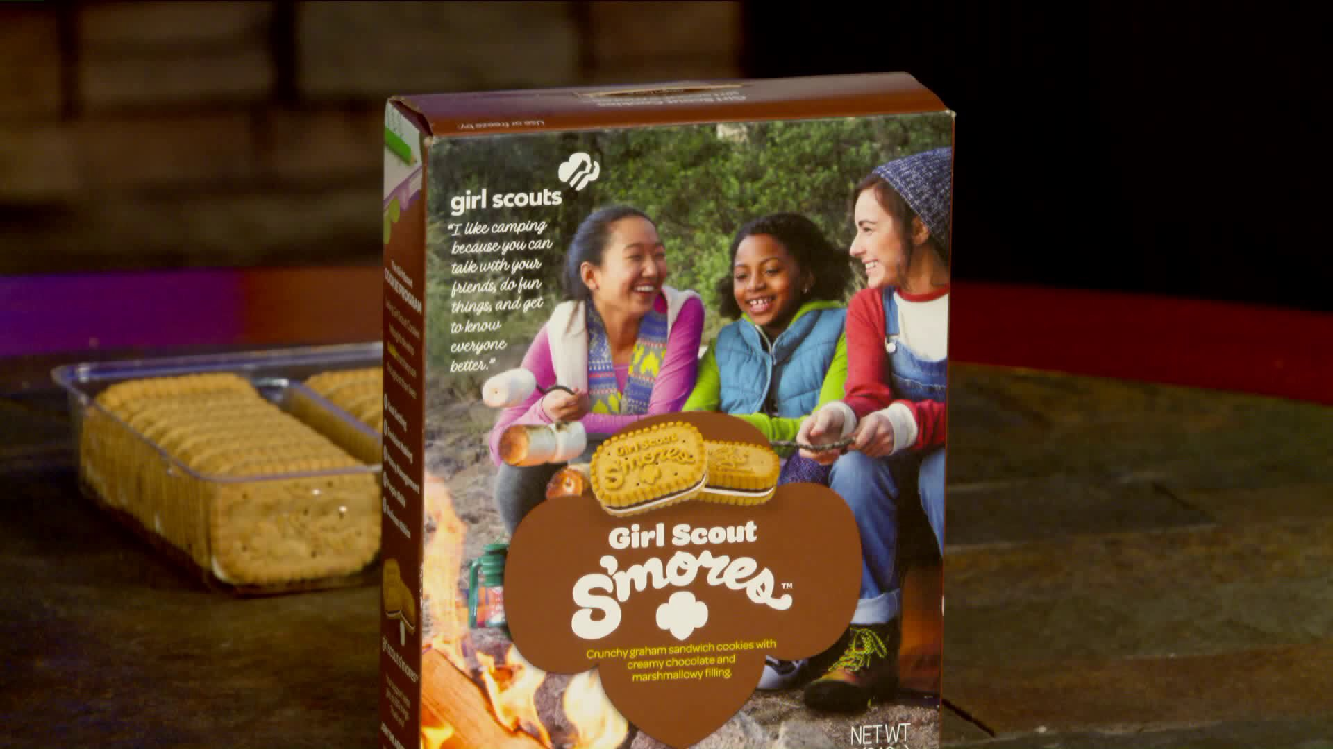 girl scouts introduces new s mores cookie flavor fort